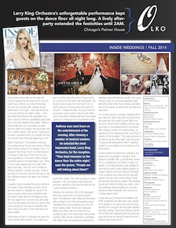 Inside Weddings Fall 2014