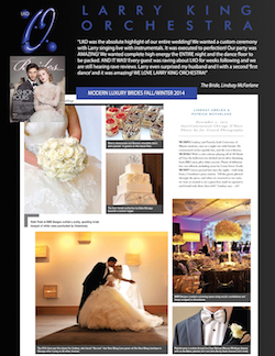 Modern Luxury Brides 2014