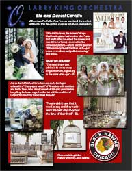 Blackhawks Modern Luxury Weddings 2016 10th Anniversary